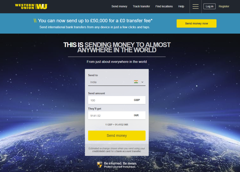 Western Union Review Fees Exchange