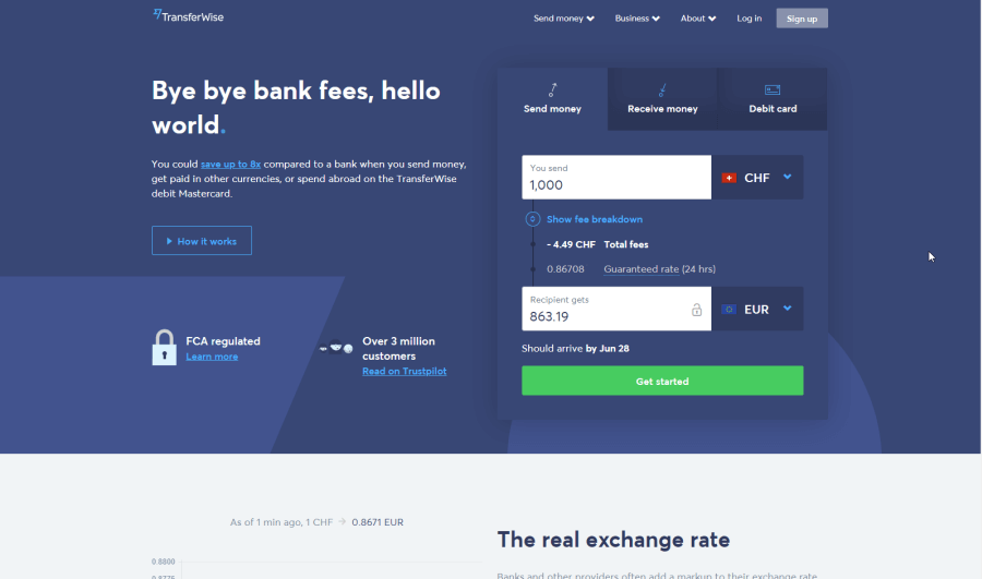 What We Like About Transferwise