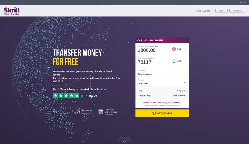 Skrill Money Transfer Review Is It