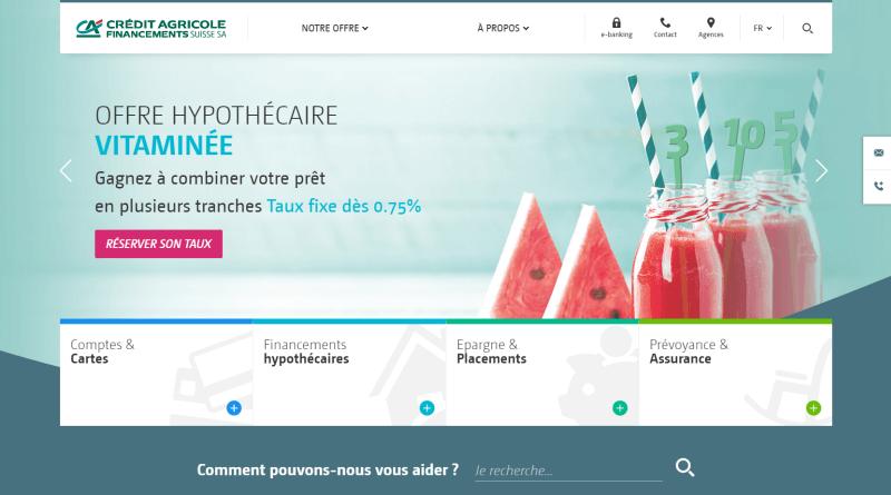 Crédit Agricole next bank